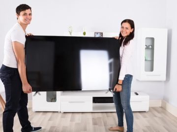 How to Move a Flat-screen TV: Tips for Keeping It in One Piece