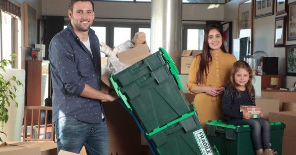 plastic crate hire